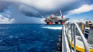 BP oil rig - photo - May 2017