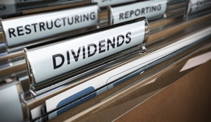 Files with dividend heading - graphics photo - August 2017