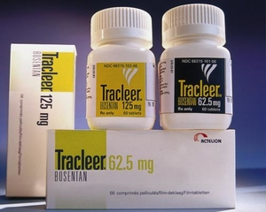 Tracleer drugs stacked on top one another - photo - September 2017
